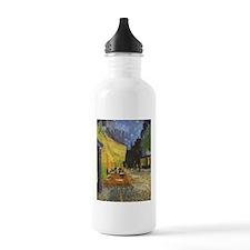 Night Cafe, van Gogh Water Bottle