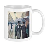 Rainy Day in Paris, Caillebotte Mug