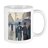 Rainy Day in Paris, Caillebotte Small Mug