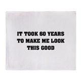It took me 60 years Throw Blanket