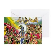 Krishna & Agha Greeting Cards (Pk of 10)