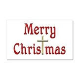 ChrisTmas Car Magnet 20 x 12