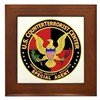 U.S. Counter Terrorist Center Framed Tile