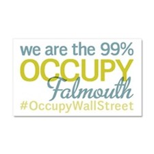 Occupy Falmouth Car Magnet 20 x 12