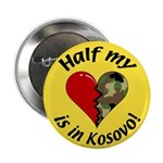 Half my heart is in Kosovo Button