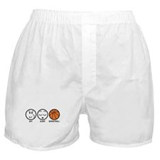 Eat Sleep Basketball Boxer Shorts