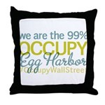 Occupy Egg Harbor Township Throw Pillow