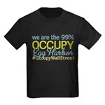 Occupy Egg Harbor Township Kids Dark T-Shirt