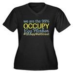 Occupy Egg Harbor Township Women's Plus Size V-Nec