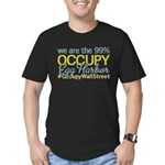 Occupy Egg Harbor Township Men's Fitted T-Shirt (d