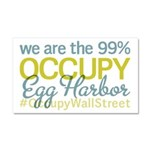 Occupy Egg Harbor Township Car Magnet 20 x 12