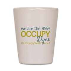 Occupy Dyer Shot Glass