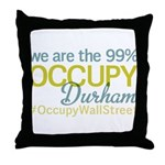 Occupy Durham Throw Pillow
