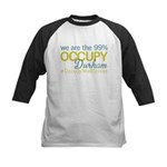 Occupy Durham Kids Baseball Jersey