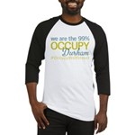 Occupy Durham Baseball Jersey