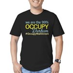 Occupy Durham Men's Fitted T-Shirt (dark)