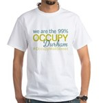 Occupy Durham White T-Shirt
