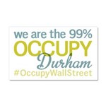 Occupy Durham Car Magnet 20 x 12