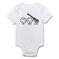 Eat Sleep Ukulele Infant Bodysuit