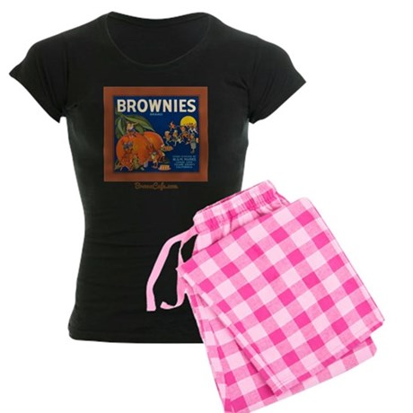 Brownies Women's Dark Pajamas