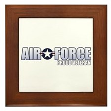 USAF Veteran Framed Tile