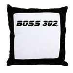 BOSS 302 Throw Pillow