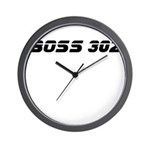 BOSS 302 Wall Clock