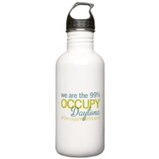 Occupy Daytona Beach Water Bottle