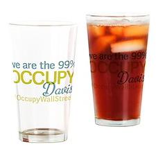 Occupy Davis Drinking Glass