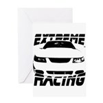 Racing Mustang 99 2004 Greeting Card