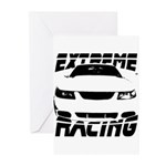 Racing Mustang 99 2004 Greeting Cards (Pk of 10)