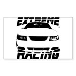 Racing Mustang 99 2004 Sticker (Rectangle 50 pk)