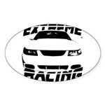 Racing Mustang 99 2004 Sticker (Oval)