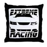 Racing Mustang 99 2004 Throw Pillow