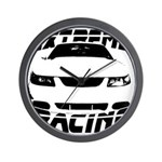 Racing Mustang 99 2004 Wall Clock
