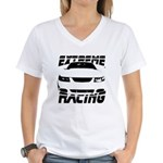 Racing Mustang 99 2004 Women's V-Neck T-Shirt