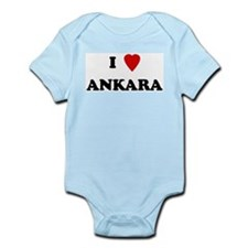 I Love Ankara Infant Creeper