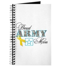 Proud Army Mom w/Ribbon Journal