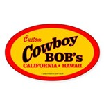 Cowboy Bob's Oval Sticker