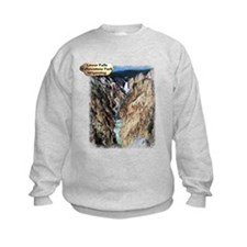 Lower Falls,Yellowstone Park 2 Sweatshirt