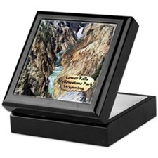 Lower Falls,Yellowstone Park 2 Keepsake Box