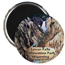 Lower Falls,Yellowstone Park 2 Magnet