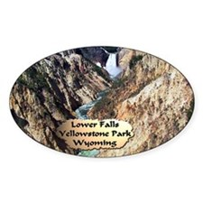 Lower Falls,Yellowstone Park 2 Decal