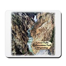 Lower Falls,Yellowstone Park 2 Mousepad