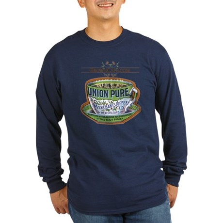 Union Pure Long Sleeve Dark T-Shirt