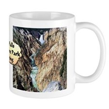 Lower Falls,Yellowstone Park Mug