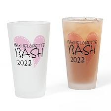 Pink Heart Bachelorette 2014 Drinking Glass