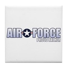 USAF Father Tile Coaster
