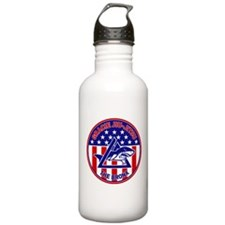 Gracie Red, White and Blue GE Water Bottle
