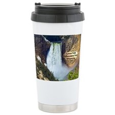 Lower Falls, Yellowstone Park 3 Ceramic Travel Mug